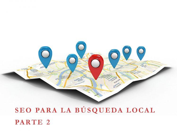 SEO para la búsqueda local (SEO for Local Search Google) Parte 2