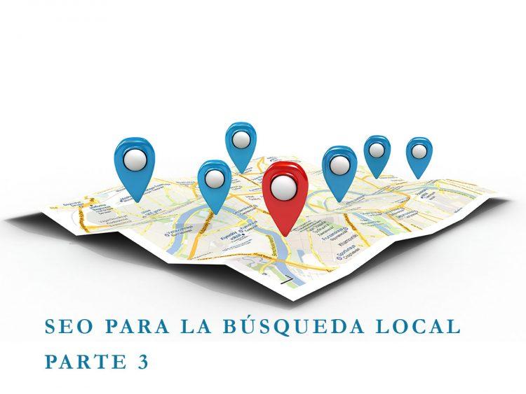 SEO para la búsqueda local (SEO for Local Search Google) Parte 3